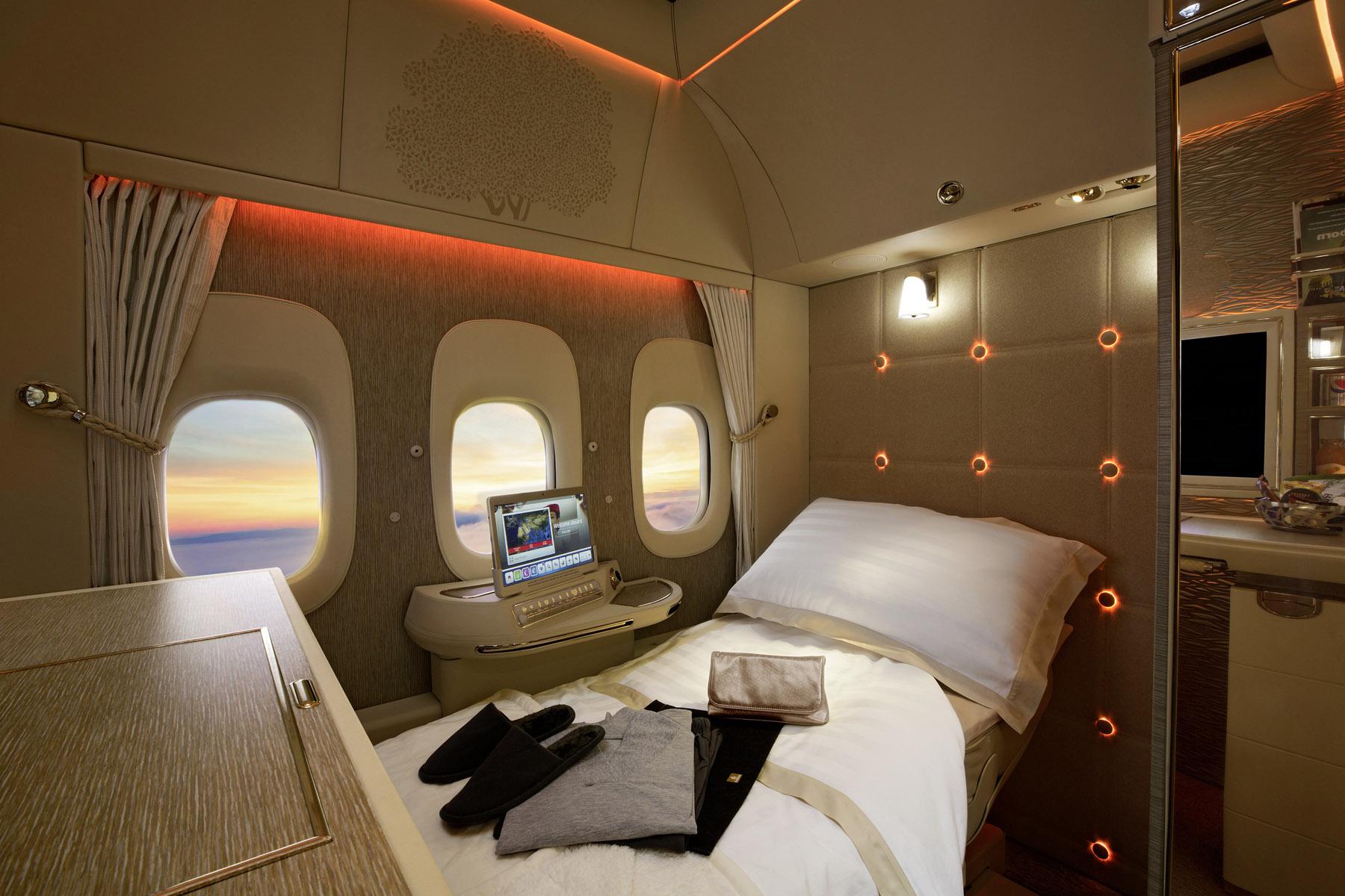 Mercedes-inredning på Emirates