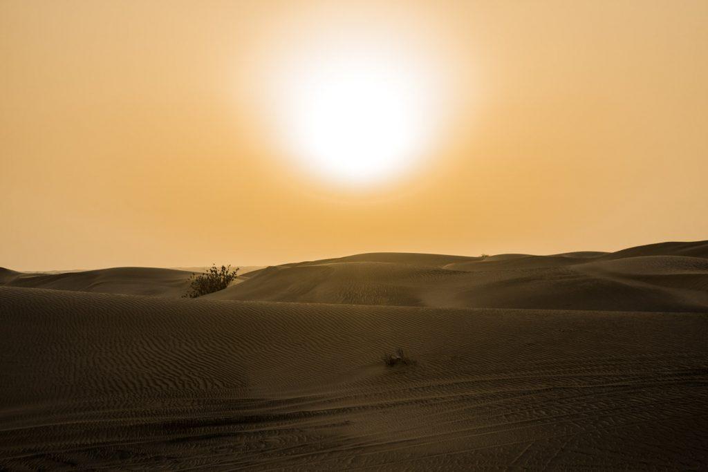 När är det bäst väder i Dubai?