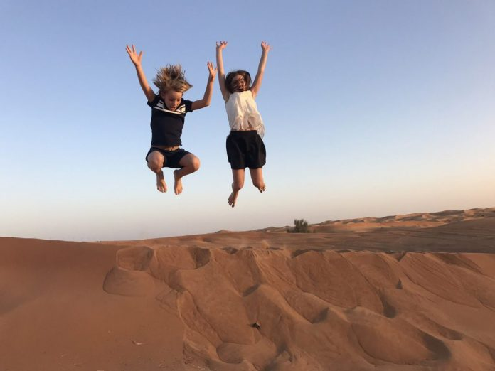 Nytt ökenreservat i Dubai - Al Marmoom
