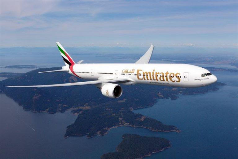 Emirates firar fem år av direktflyg till Dubai från Sverige