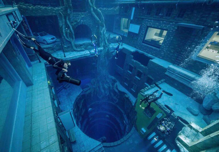 Världens djupaste pool – Deep Dive Dubai